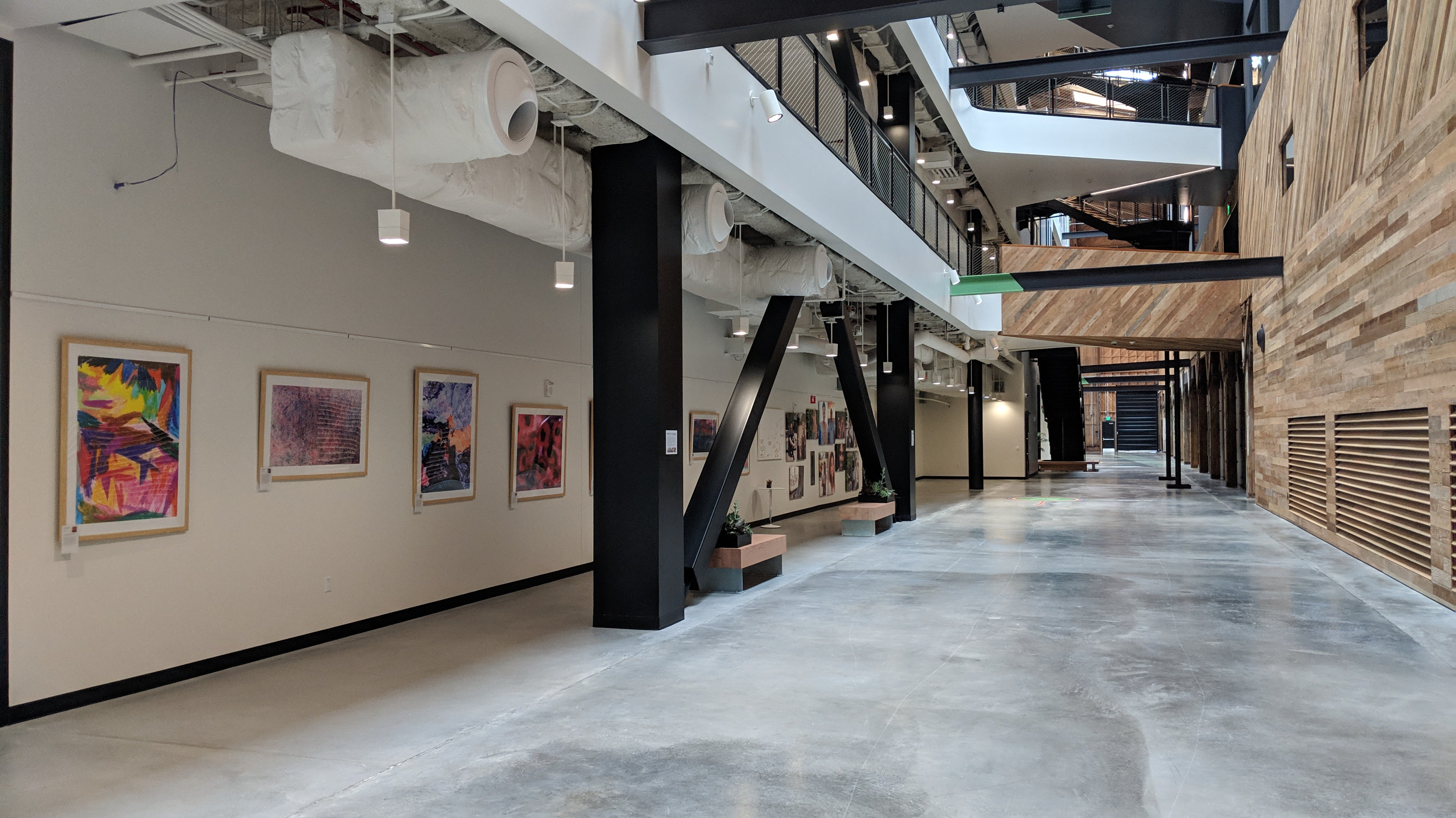 ArtLifting's rotation Program helps us keep our space fresh, relevant, and engaging.  Googlers are exposed to a variety of artists and artworks over the year which helps inspire new creativity and inclusivity. </p>-Heith Rogers, Facilities Manager at Google LA