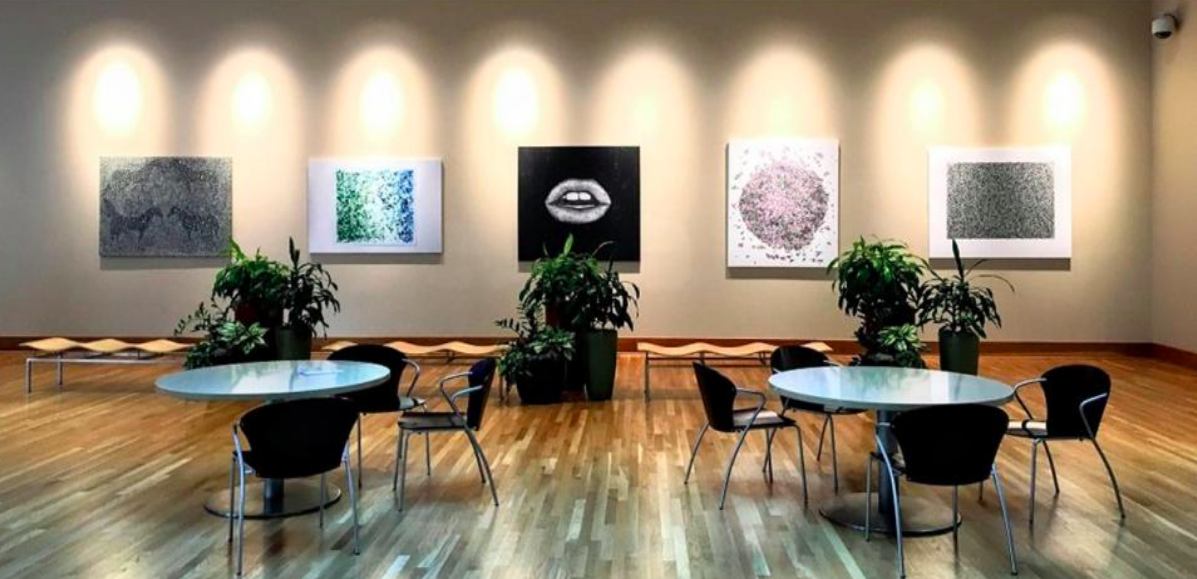 It was the perfect fit for the space. ArtLifting provided a solution that activated the space in a socially conscious way. </p>-Logan Bjorkman, Hines Property Manager
