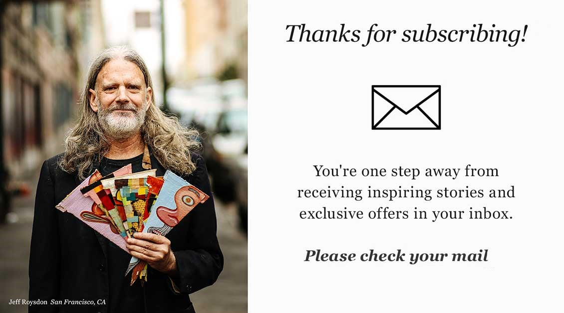 Thanks! Check your mail to receive your discount!