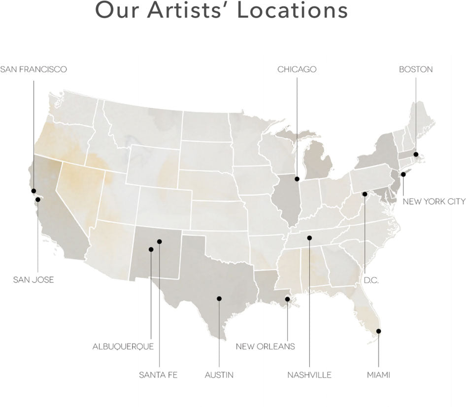 artlifting artists locations