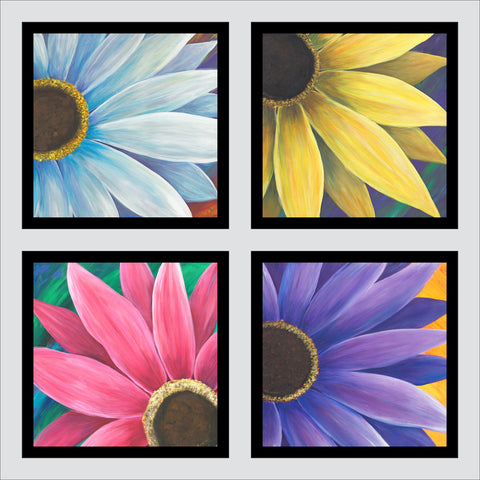 Four Daisies (polyptych)