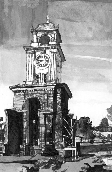 Clock Tower - ArtLifting