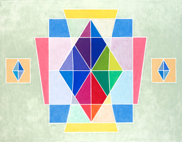 Sacred Geometry Rainbow