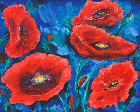 Dancing Poppies - ArtLifting