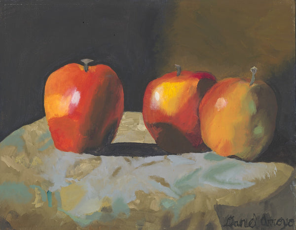 Three Apples - ArtLifting