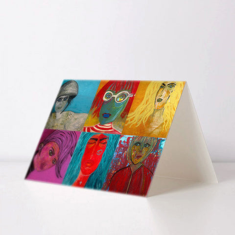Selected Artwork Greeting Card