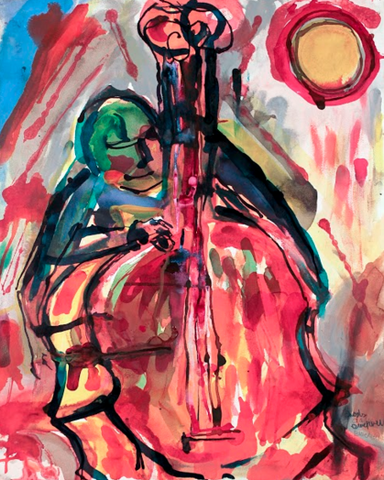Bass Player - ArtLifting
