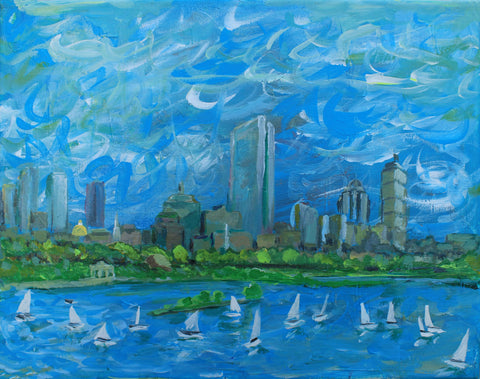 Boston by the Charles - ArtLifting