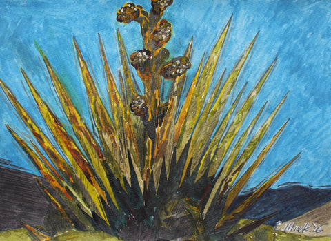 Early Morning Yucca - ArtLifting