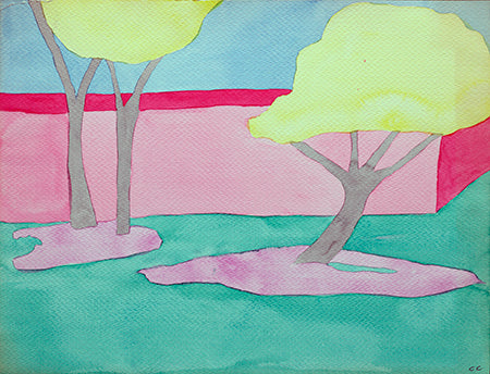 Trees in the Park 3 - ArtLifting