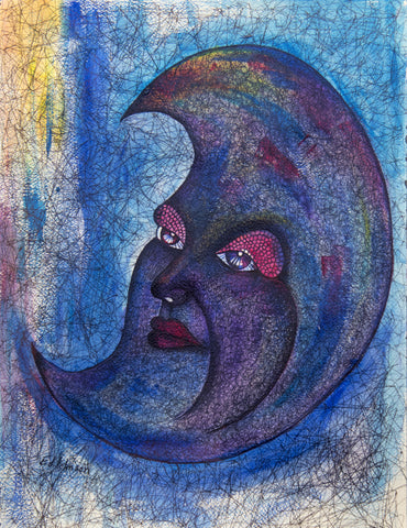 Blue Moon - ArtLifting