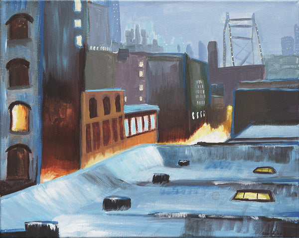 City Street Warmth - ArtLifting
