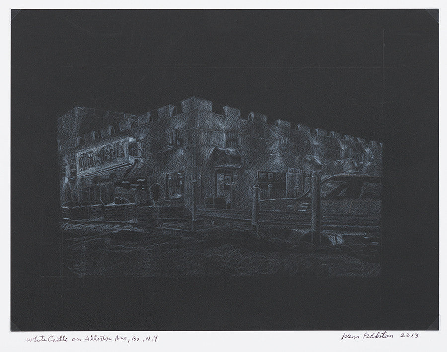 White Castle at Night - ArtLifting