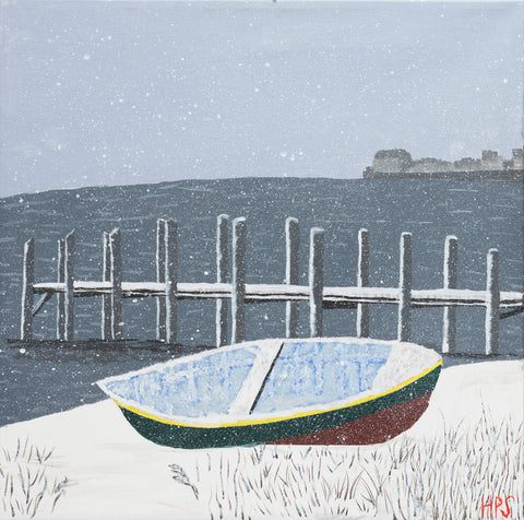 Winter Boat - ArtLifting
