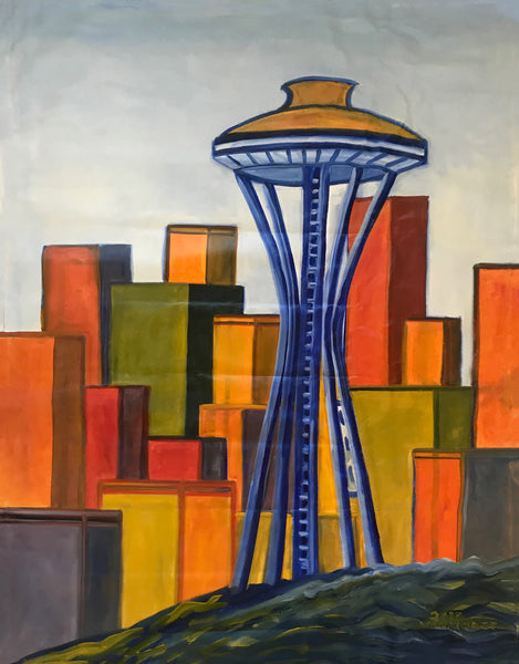 Space Needle - ArtLifting