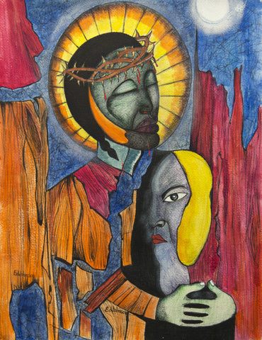 Jesus and His Disciple - ArtLifting
