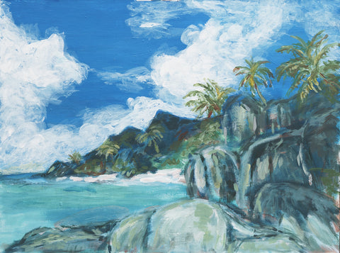Barbados Coast - ArtLifting