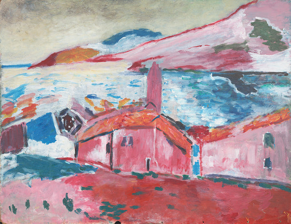Village on a Fjord - ArtLifting