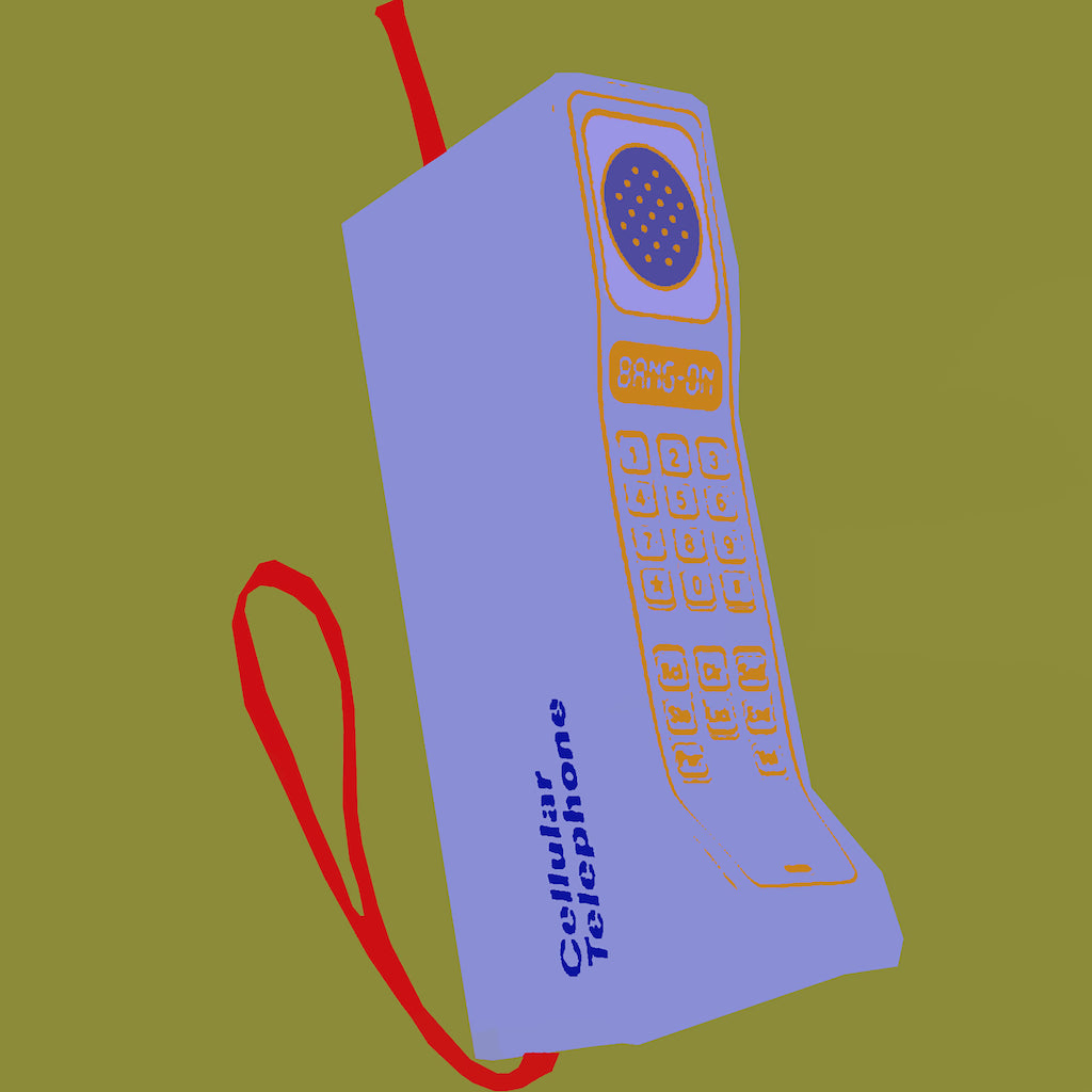 First Cell Phone - ArtLifting