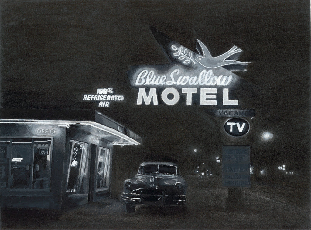 Blue Swallow Hotel - ArtLifting