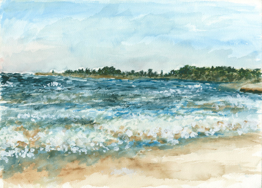 Moran Lake Beach - ArtLifting