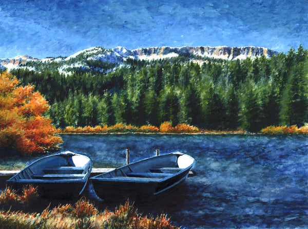 Twin Lakes, Mammoth Lakes - ArtLifting