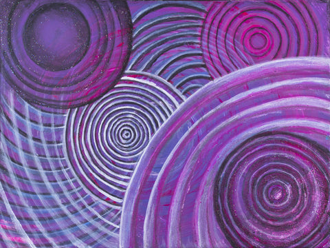 Purple Spiral - ArtLifting