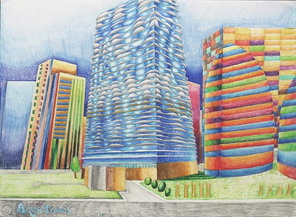 Chicago Aqua Tower - ArtLifting