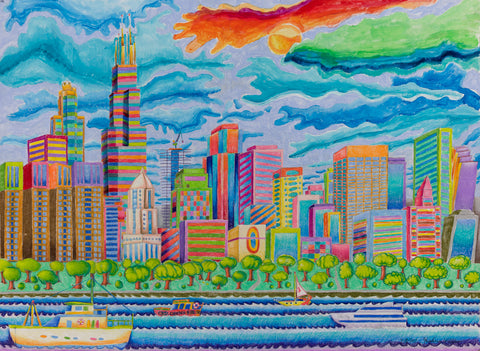 Downtown Chicago - ArtLifting