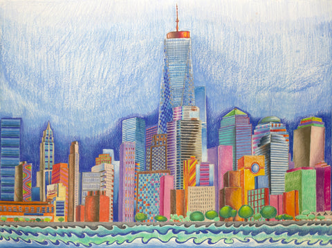 Chicago Skyline - ArtLifting