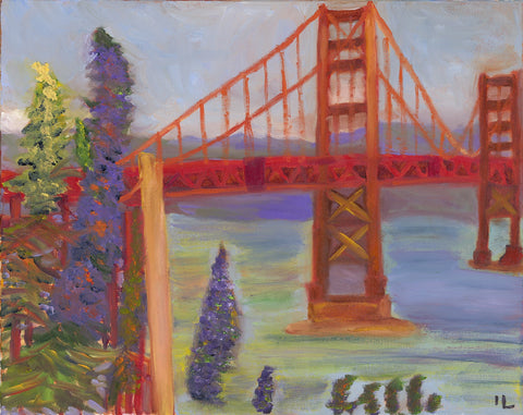 Golden Gate Bridge II - ArtLifting