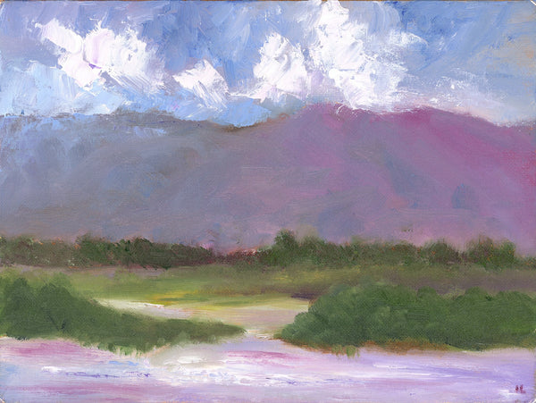 Purple Hill - ArtLifting