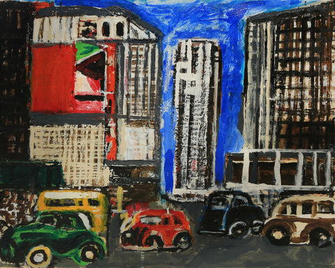 New York Cars - ArtLifting