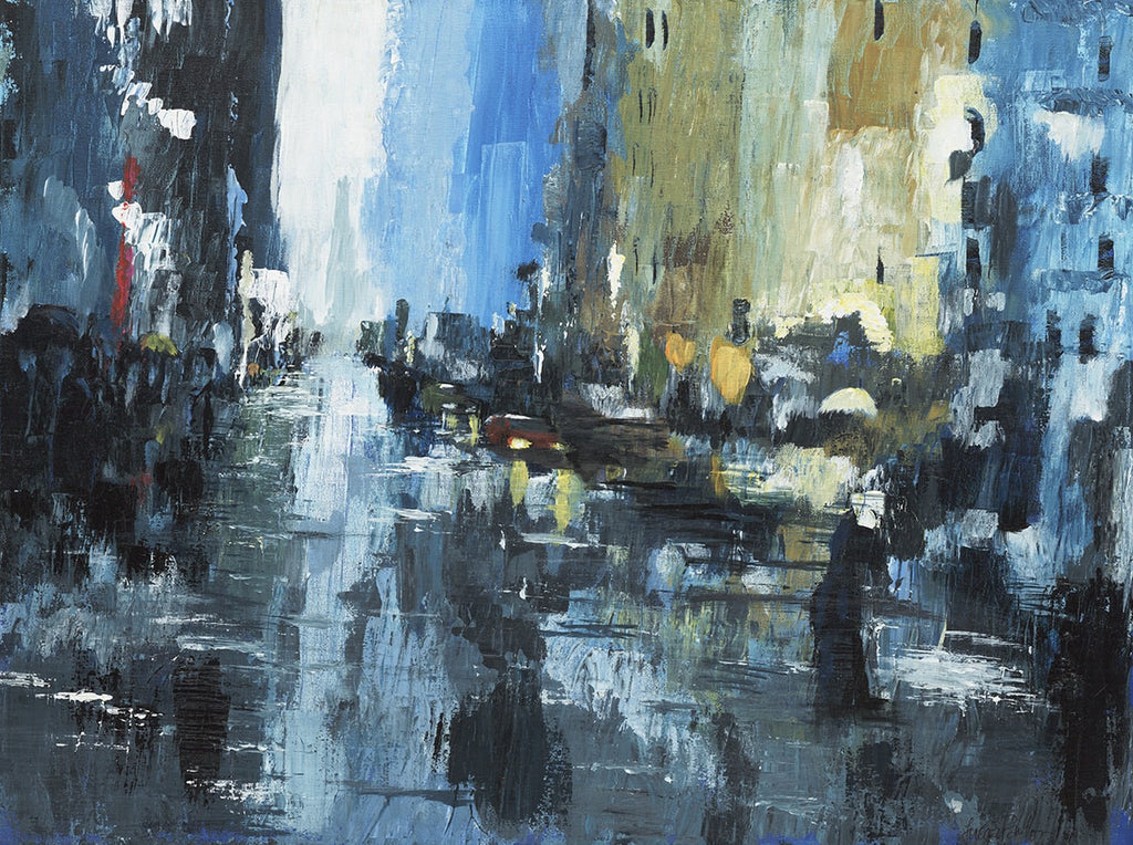 Rainy City - ArtLifting