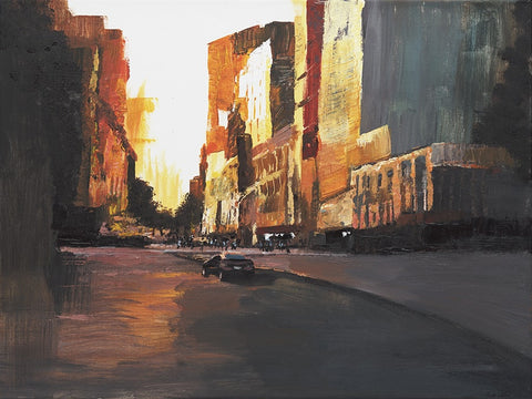 Vacant City, Early Morning - ArtLifting