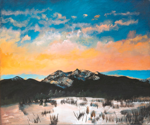 Winter in the Rockies - ArtLifting