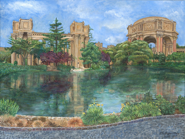 Palace of Fine Arts Museum, San Francisco - ArtLifting