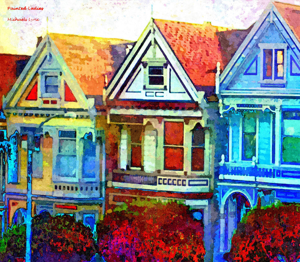 Painted Ladies - ArtLifting