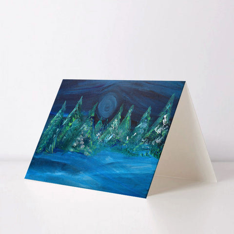 Fallen Snow Greeting Card