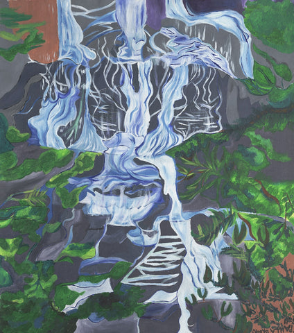 Rock Mountain Waterfall - ArtLifting
