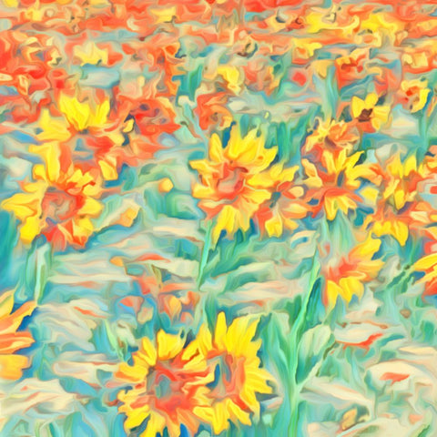 Sunflower Field 1 - ArtLifting