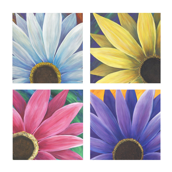 Four Daisies (polyptych) - ArtLifting