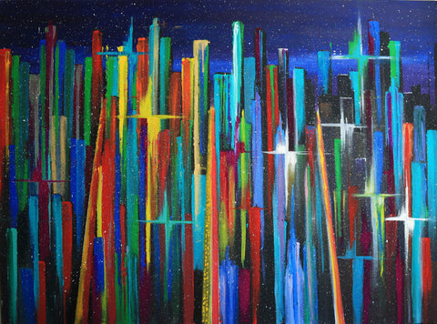 City Lights - ArtLifting