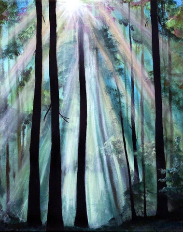 Woodland Light - ArtLifting