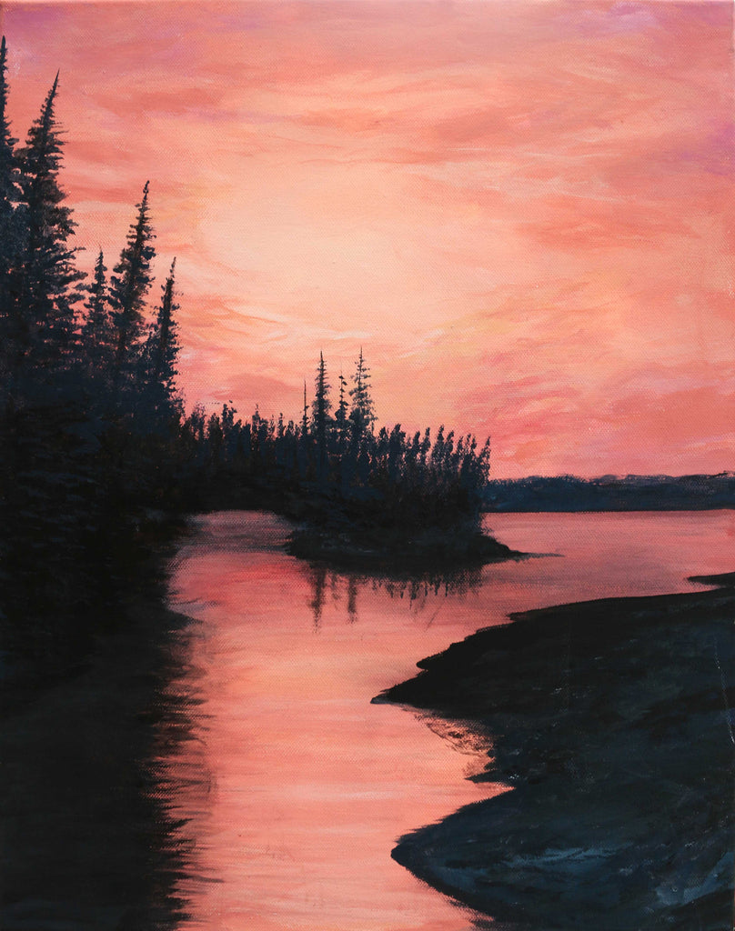 Sunrise in Quebec, Canada - ArtLifting