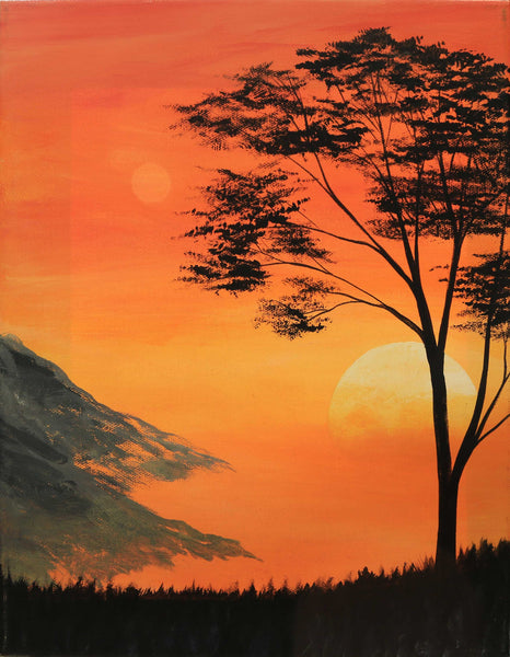 Sunrise in the Smoky Mountains - ArtLifting