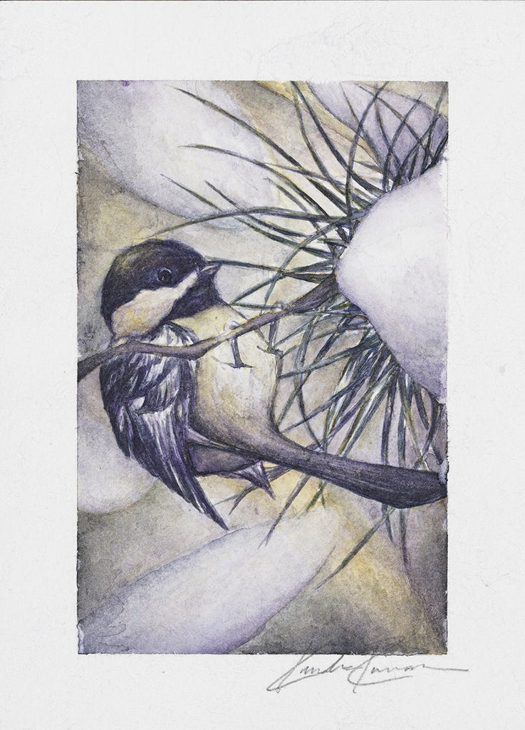 Black-Capped Chickadee - ArtLifting