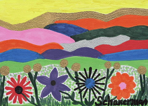 Rainbow Mountains and Wacky Wildflowers