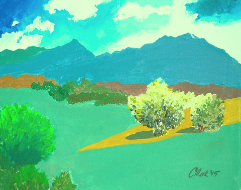 New Mexico Afternoon - ArtLifting