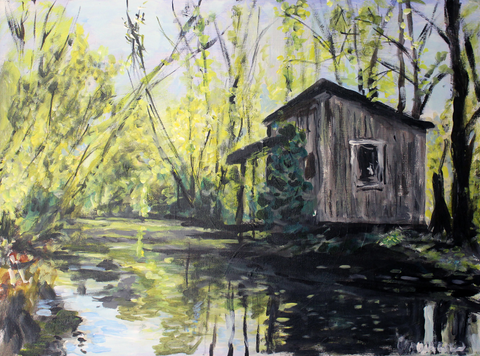 Louisiana Bayou Lake 1 - ArtLifting